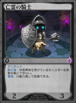亡霊の騎士